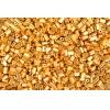 Tiny Flats 5X3.5mm Metallic Gold Terra Colour